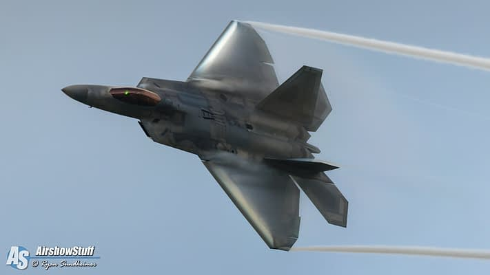 USAF F-22 Raptor Demonstration Team 2020 Airshow Schedule Released