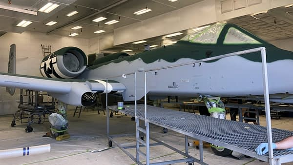 WWII Heritage Paint - A-10 Thunderbolt II - AirshowStuff