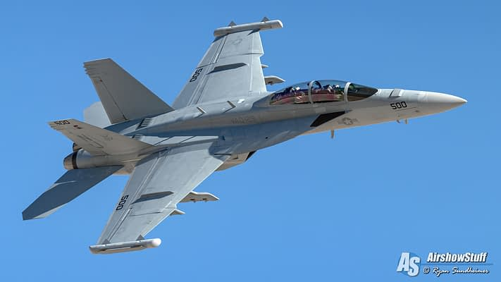 Meet The New US Navy Growler Demonstration Team