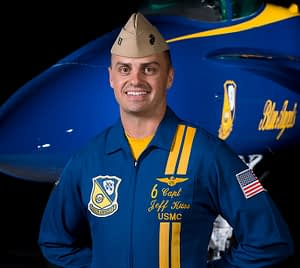 Captain Jeff Kuss - Blue Angel 6