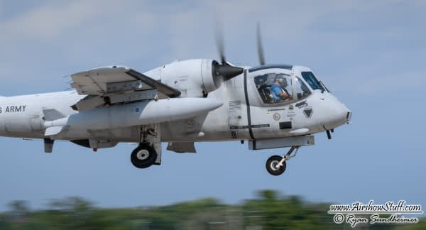 OV-1 Mohawk - AirshowStuff
