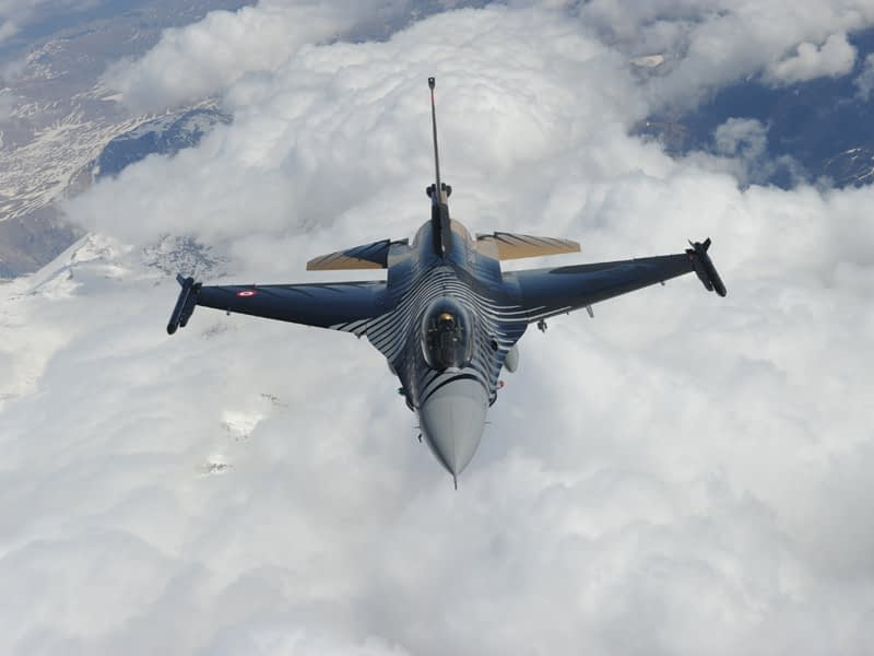 Solo Turk F-16 Demo Added To NAF El Centro Airshow Lineup