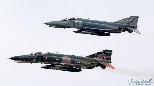 USAF QF-4 Phantom IIs