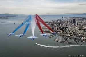 Patrouille de France Over San Francisco