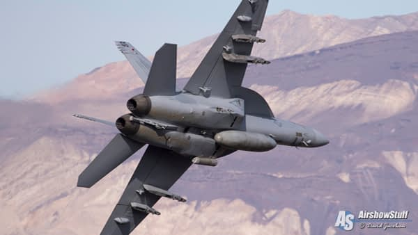 F/A-18 Super Hornet in Star Wars Canyon - AirshowStuff