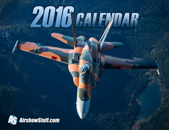 Order Now: 2016 Airshow Photo Calendars Available!