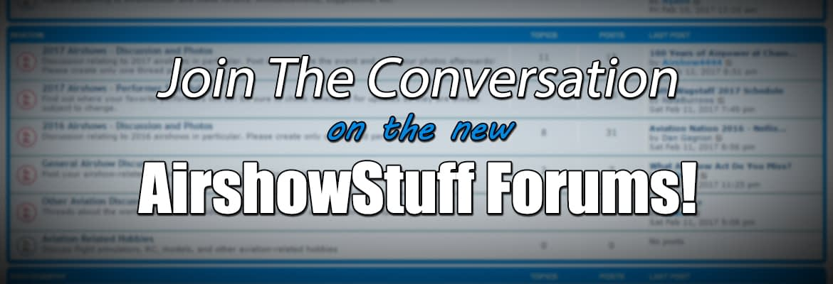 AirshowStuff Forums Banner