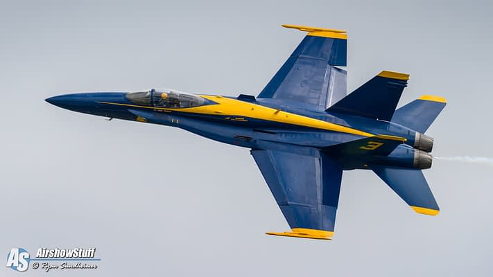 Blue Angels To Stand Down Following Crash, But The Great Tennessee Airshow Will Be Held