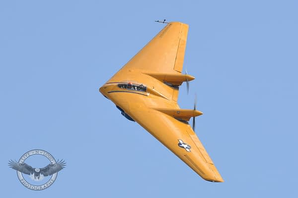 Last Surviving N9M Flying Wing Crashes in California; Pilot Killed