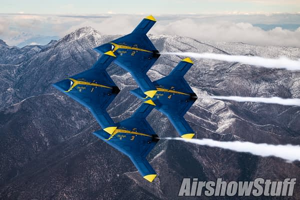 US Navy: Blue Angels Will Transition To Unmanned Aircraft Next Year