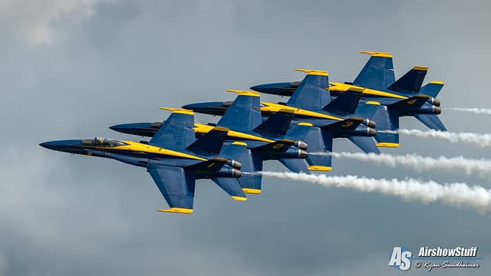Sequestration All Over Again: Looming 2020 Budget Cuts May Ground Blue Angels, Other Military Demonstrations