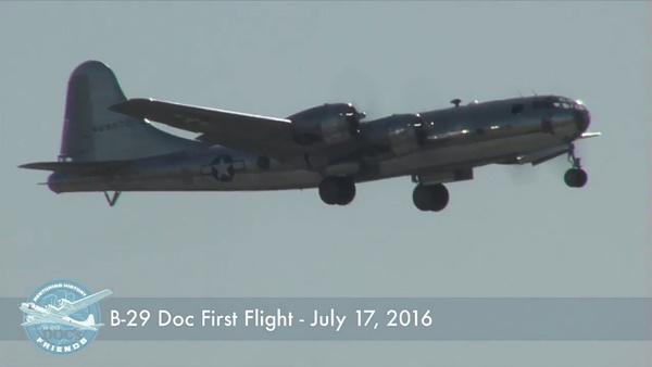 "B-29 Superfortress ""Doc"" First Flight"