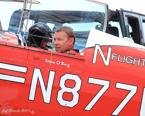 Pilot Steve O'Berg Killed In Saturday Crash At Cameron Airshow