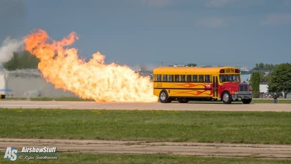 Indy Boys Jet-Powered School Bus