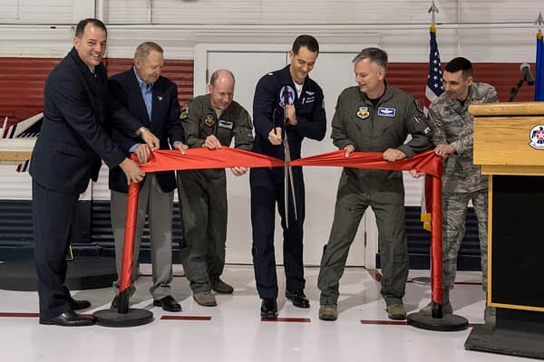 USAF Thunderbirds Museum Reopens At Nellis AFB