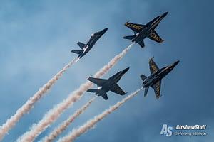 US Navy Blue Angels - EAA AirVenture Oshkosh 2017