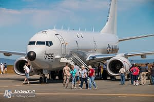 USN P-8 Poseidon Navy NAS Whidbey Island Washington WA Static Display