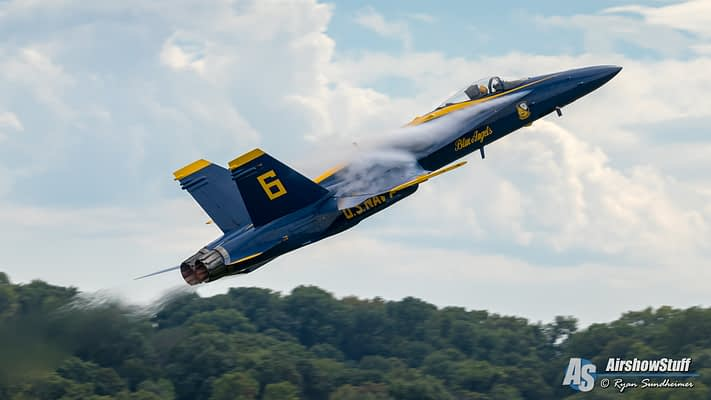 US Navy Blue Angels Preliminary 2021 Airshow Schedule Released