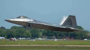 USAF F-22 Raptor - Atlantic Trident 2017