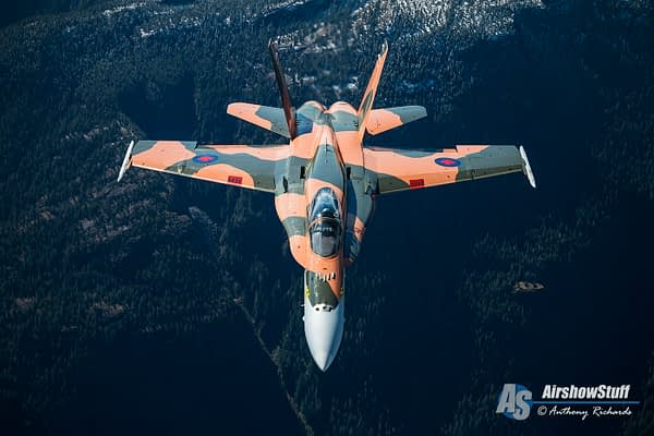 [Updated x2] Canadian Forces CF-18 Hornet Demo 2015 Schedule Released