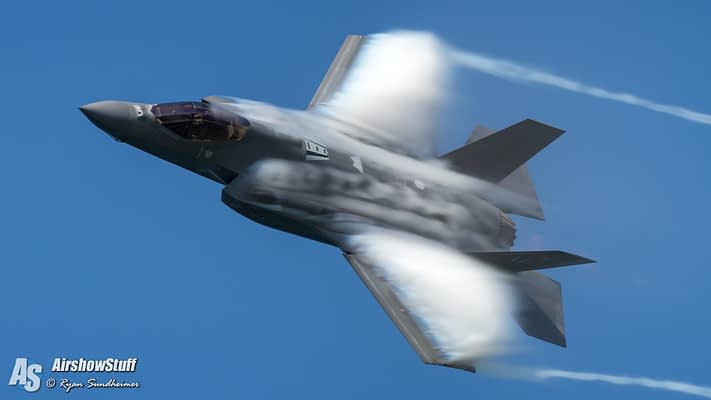 USAF F-35 Lightning II Demonstration Team 2020 Airshow Schedule Released