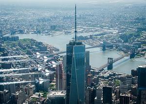 USAF Thunderbirds Over One World Trade Center - New York City