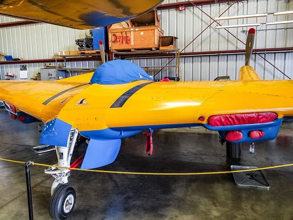 N-9MB Flying Wing on display at the Planes of Fame Air Museum in Chino California - AirshowStuff