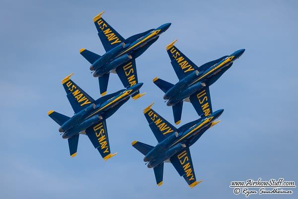 Blue Angels Add Sacramento, Drop Aurora On 2016 Schedule