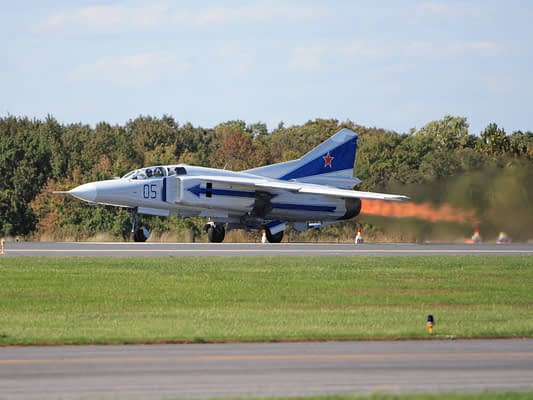 MiG-23 To Fly At Thunder Over Michigan