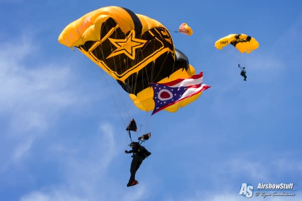 US Army Golden Knights Parachute Demonstration Team