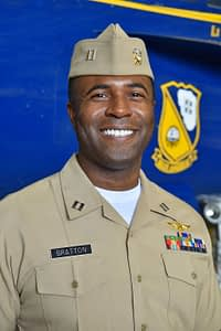 Navy Lt. Julius Bratton