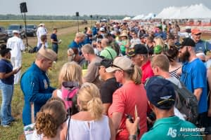Blue Angel Autographs - Thunder Over Michigan 2015
