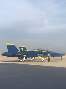 Blue Angels Receive New Jet