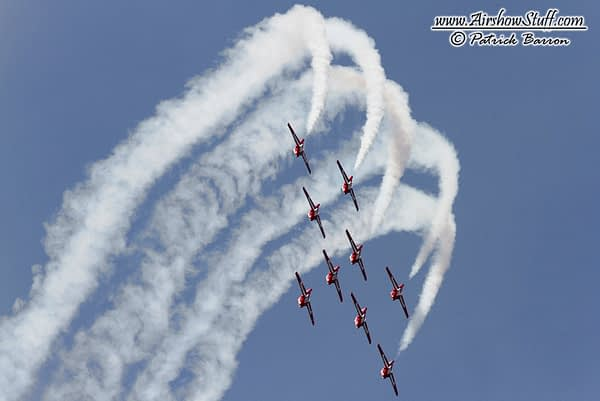 Snowbirds and CF-18 Demo added to Memphis Airshow