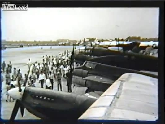 Step Into History With This Rare Footage Of A Spectacular 1945 Airshow
