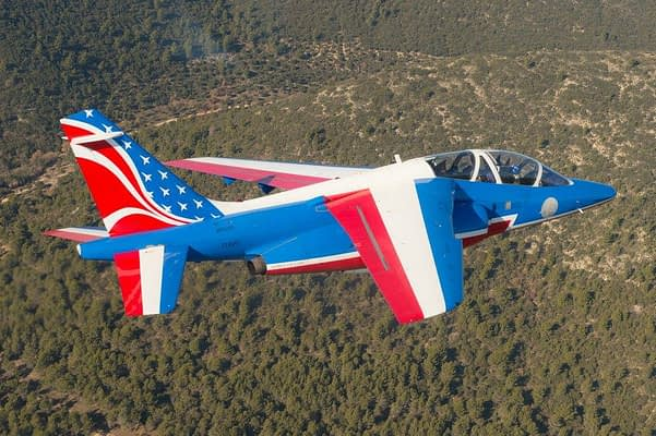 Patrouille de France Debut New Tail Paint For 2017 Season