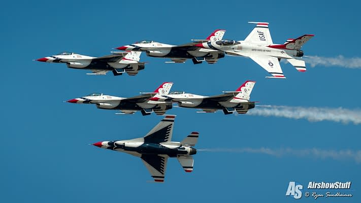 USAF Thunderbirds 2018 Airshow Schedule Released