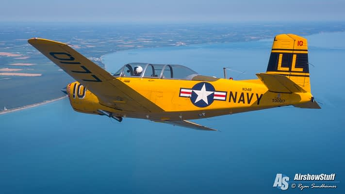 Mentors Over Manitowoc – Pre-Oshkosh Practice And Fun With The T-34 Association