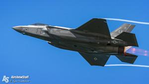 F-35 Lightning II Afterburner Flyby