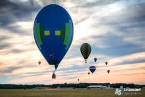 Hot Air Balloons - Battle Creek Field of Flight Airshow and Balloon Festival 2016