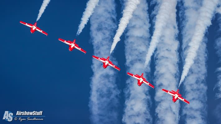 Canadian Forces Snowbirds 2017 Airshow Schedule Released