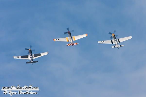 The Horsemen Cometh! Warbird Formation Team Announces 2017 Airshow Schedule