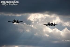 USAF A-10 Thunderbolt IIs