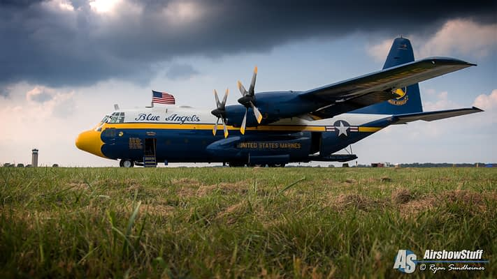 """Fat Albert"" C-130 Retires From Blue Angel Duties"