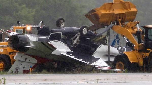 USAF Thunderbird #8 Crash in Dayton, OH