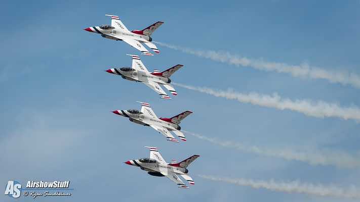 USAF Thunderbirds 2019 Preliminary Airshow Schedule Released
