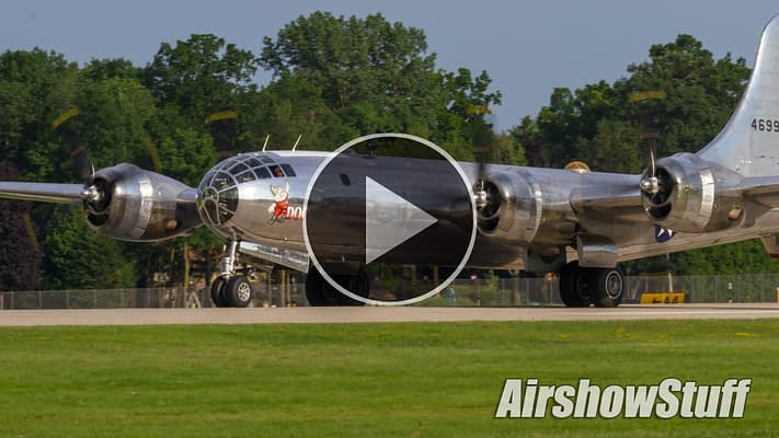 WATCH:  Two B-29 Superfortresses Flying Together For The First Time In Decades!