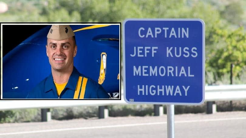 Colorado Highway Named In Honor Of Marine Capt. Jeff Kuss, Blue Angel #6