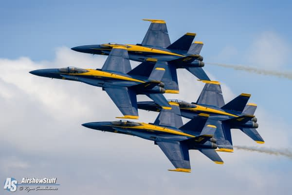 US Navy Blue Angels - Rockford Airfest 2015