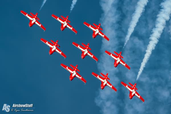 Canadian Forces Snowbirds Set To Resume 2017 Airshow Appearances Following Stand Down